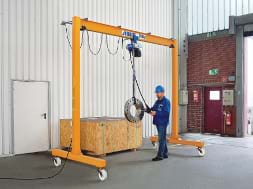 Lightweight Mobile Gantry